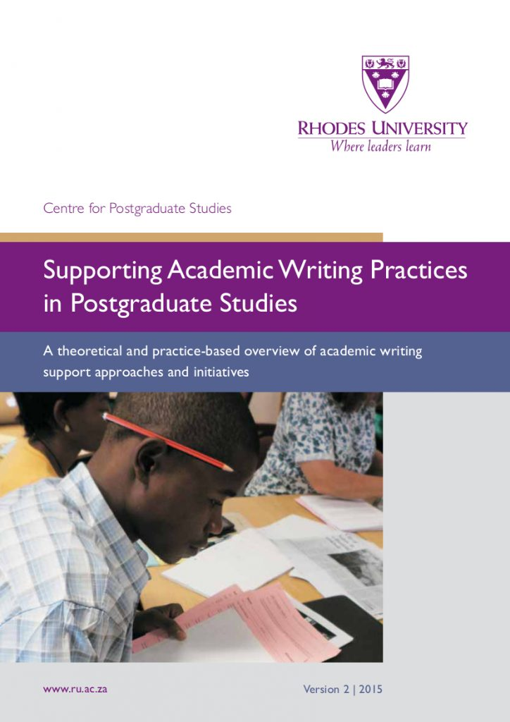 Supporting Academic Writing Practices in Postgraduate Studies